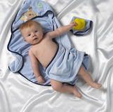 Bathing Boy Royalty Free Stock Photos