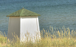 Bathing hut Stock Photos