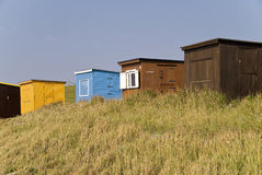 Bathing Hut Royalty Free Stock Photography