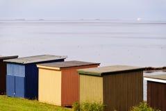 Bathing Huts Stock Photo