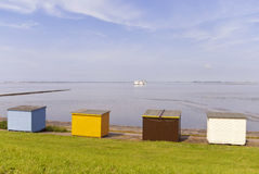Bathing Huts Royalty Free Stock Images