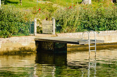 Bathing jetty Royalty Free Stock Images