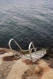 Bathing ladder Stock Photos
