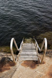Bathing ladder Stock Photography