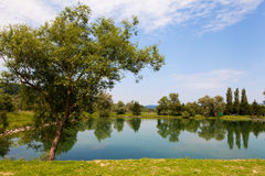 Bathing pond Stock Photography
