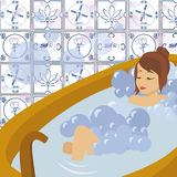 Bathing Stock Image