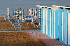 Bathouse in Pesaro, Marche, Italy Royalty Free Stock Image