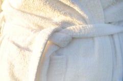 Bathrobe belt. And knot bow royalty free stock photo
