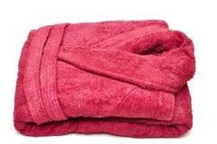 bathrobe czerwień zdjęcie royalty free