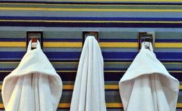 Bathrobe and towel Royalty Free Stock Photo