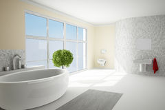 Bathromm in sunshine Royalty Free Stock Images