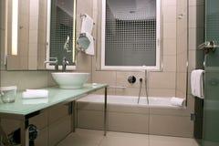 Bathroom 1. A bathroom suite in a luxury hotel Stock Photo