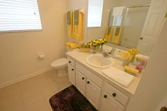 Bathroom. A Bathroom in a House in Central Florida Stock Photo
