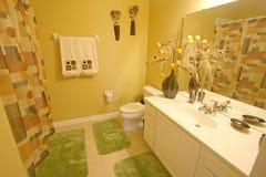 Bathroom. An Interior Shot of a Bathroom in Florida Stock Photos