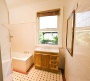 Bathroom. A bathroom with a rustic feel Royalty Free Stock Photography