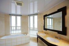 Bathroom. A bathroom of an apartment Royalty Free Stock Image