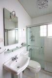 Bathroom. A bathroom of an apartment Stock Image