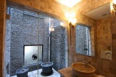 Bathroom. A bathroom of an old lane house Stock Photos