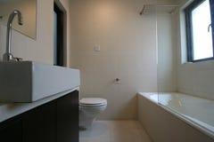 Bathroom. A bathroom of an apartment Stock Photography