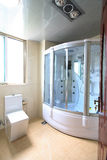 Bathroom. A bathroom of an apartment Royalty Free Stock Images
