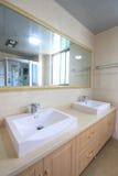 Bathroom. A bathroom of an apartment Stock Photos