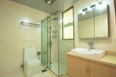 Bathroom. A bathroom of an apartment Royalty Free Stock Photo