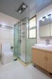 Bathroom. A bathroom of an apartment Royalty Free Stock Photos