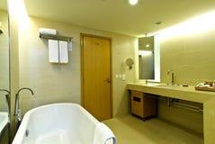 Bathroom. Interior of modern bathroom in hotel Royalty Free Stock Image