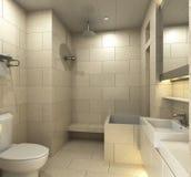 Bathroom. Modern bathroom for residences or hotels Stock Images