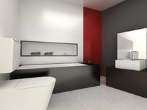 Bathroom. Modern bathroom for residences or hotels royalty free illustration