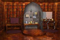 Bathroom. 3d render of a bathroom Royalty Free Stock Image