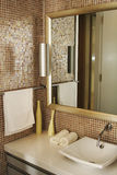 Bathroom. The various appliances in bathroom royalty free stock photo