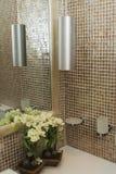 Bathroom. The various appliances in bathroom stock photo