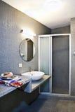 Bathroom. Interior of luxury resort hotel royalty free stock images