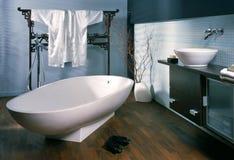 Bathroom. Large bathroom in oriental style royalty free stock photo