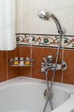 Bathroom. The bathroom in the hotel Royalty Free Stock Photography