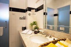 Bathroom. Interior of an elegant bathroom view Royalty Free Stock Images