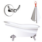 Bathroom accessories Royalty Free Stock Image