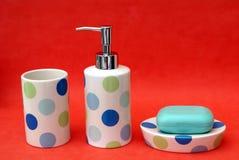 Bathroom accessories Stock Image