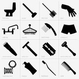 Bathroom accessories Stock Photography