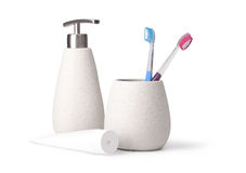 Bathroom accessories Stock Image