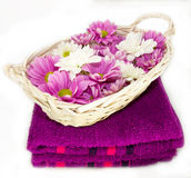 Bathroom aromatherapy Royalty Free Stock Images