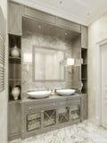 Bathroom Avant-garde style Stock Image