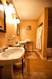 Bathroom of b&b Stock Photography