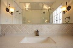 Bathroom basin Royalty Free Stock Image
