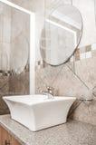 Bathroom Basin on Granite Top Stock Photos