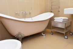 Bathroom with  bathtub Stock Photos