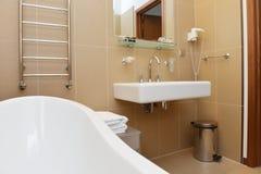 Bathroom with  bathtub Royalty Free Stock Photo