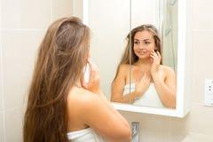 Bathroom beauty Royalty Free Stock Photography