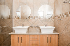 Bathroom of Brand New House Royalty Free Stock Image